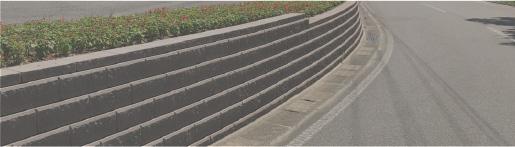 土留め擁壁・土地高低差の活用の施工例
