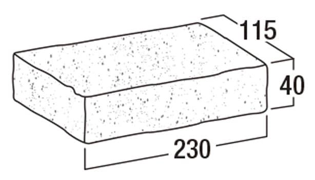グライン・ペイバー-寸法図-形状寸法図