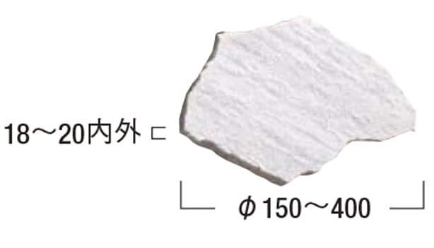 アクバル 乱形・方形-寸法図-乱形