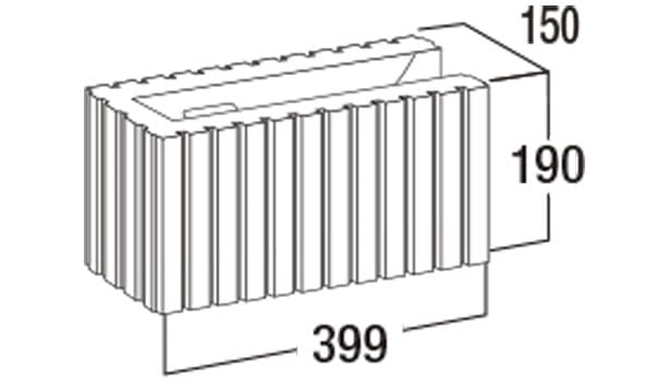 スマートC-寸法図-150コーナー