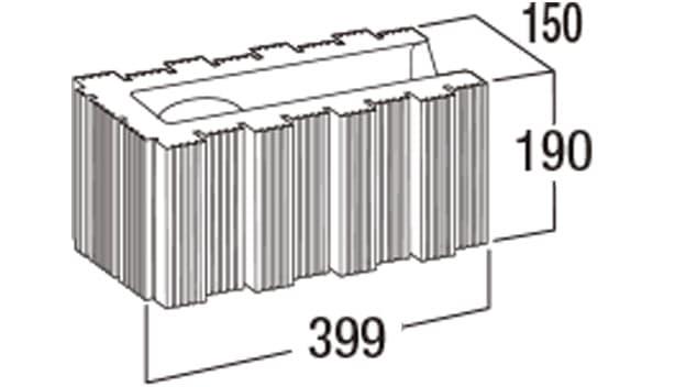 ウルトラC-寸法図-150コーナー