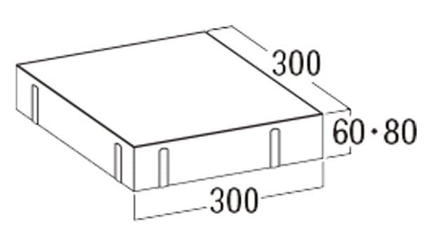 オールラウンドペイブ・オリジナル-寸法図-336/338
