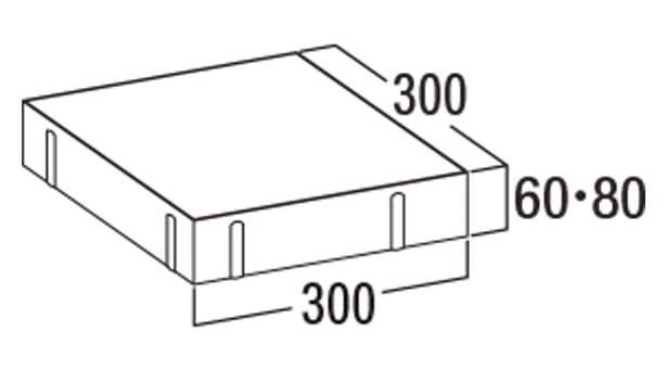 オールラウンドペイブ・スルー-寸法図-336/338