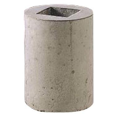 擬石-カラーバリエーション-車止め丸形基礎