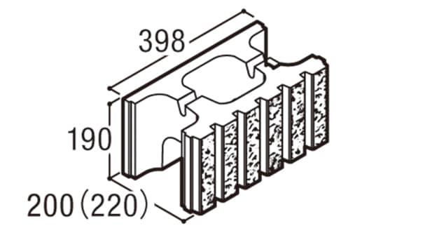 RECOM 6RB-寸法図-200基本