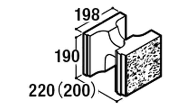 RECOM スクエア-寸法図-200基本1/2
