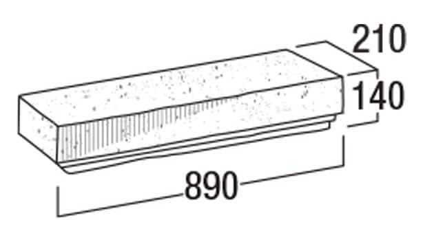 大谷900-寸法図-90洋門笠・90YMK