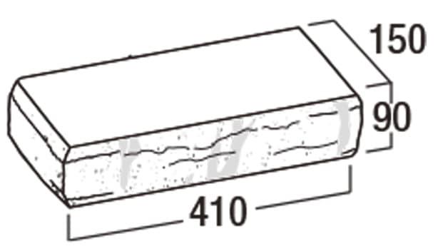 ピッチフェイス100/200-寸法図-コーナー笠木50-CK