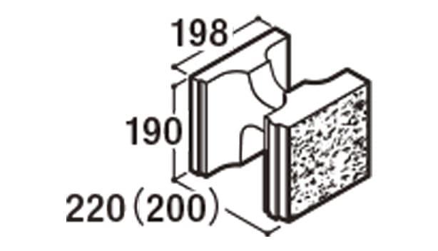RECOM 2SP-寸法図-200基本1/2