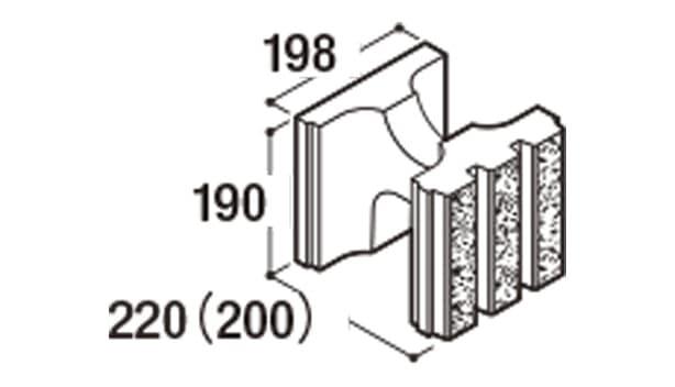 RECOM 6RB-寸法図-200基本1/2