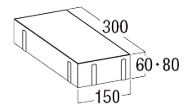 オールラウンドペイブ・オリジナル-寸法図-3156/3158