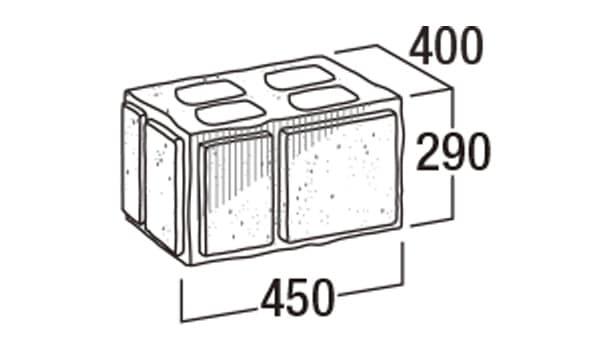 こたたき900-寸法図-45和門柱