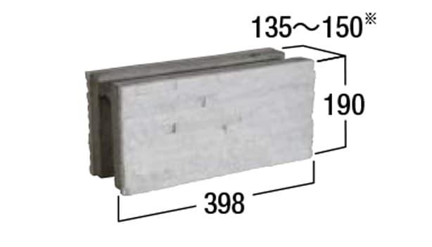 コルジェボーダー-寸法図-基本形横筋