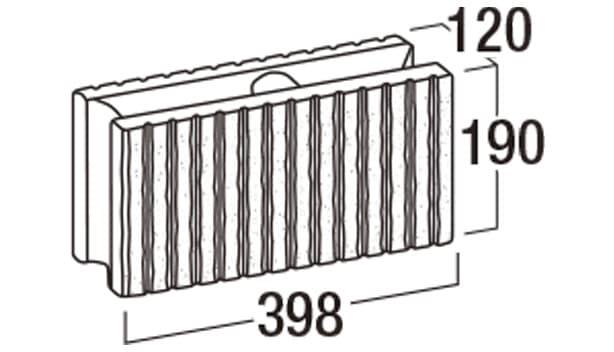 ロジック-寸法図-基本型横筋