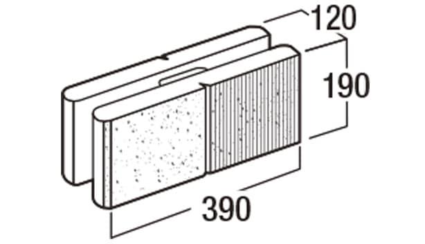 デュアル-寸法図-基本形横筋