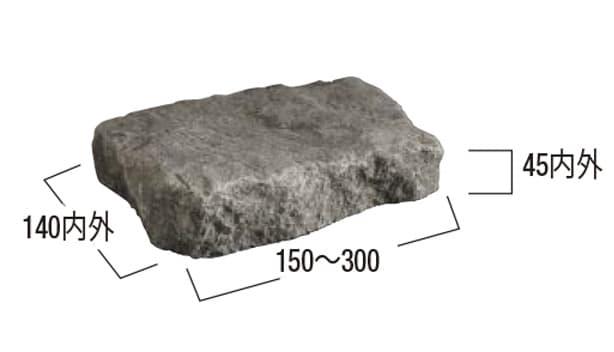 オールドポルフィリー-寸法図-方形