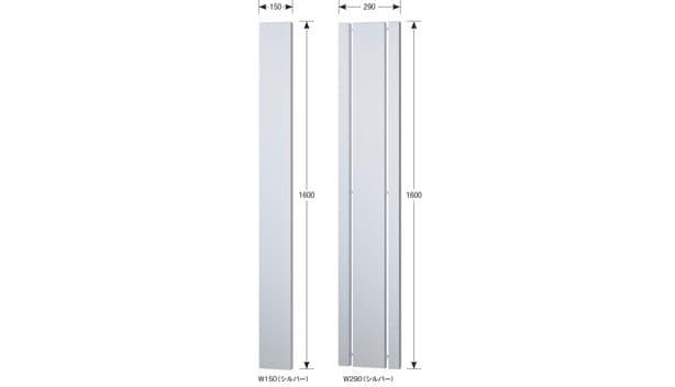 ビューオ-寸法図-門柱