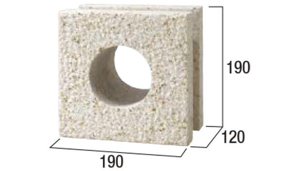 グラニットスクリーン・サークル-寸法図-形状寸法図