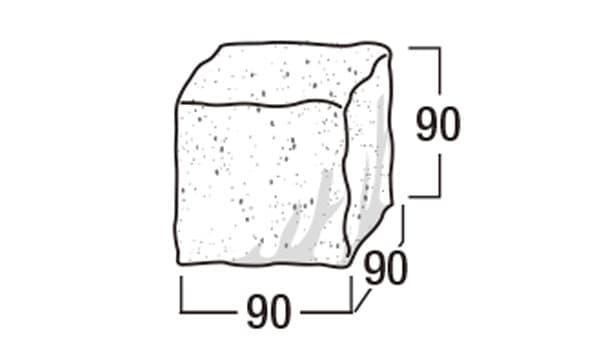 ショコラ・コロン-寸法図-形状寸法図