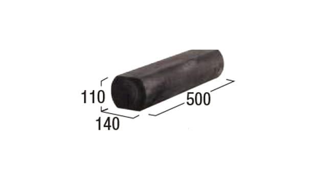 エクステリア・エコ杉-寸法図-500