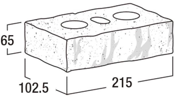 ショコラ・ブリック-寸法図-基本