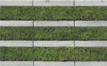 リビオ[ai]緑化80-カラーバリエーション-シルバー(芝あり)