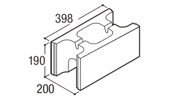 RECOM フラット-寸法図-200基本