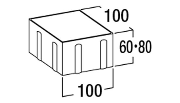 オールラウンドペイブ・スタンダード-寸法図-6S/8S