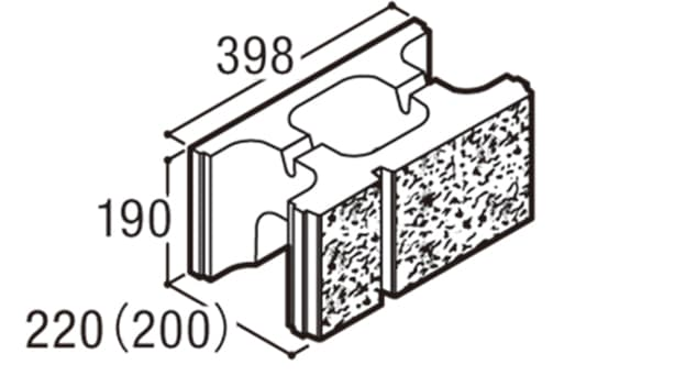 RECOM 2SP-寸法図-200基本A