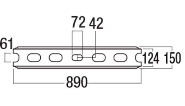 大谷900-寸法図-基本上部形状