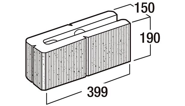 スクエアC-寸法図-150コーナー