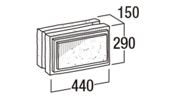 大谷900-寸法図-横筋・904
