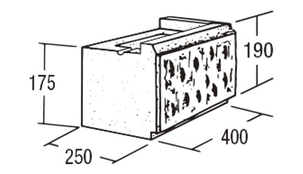 ABロック12°-寸法図-コーナー(右用)