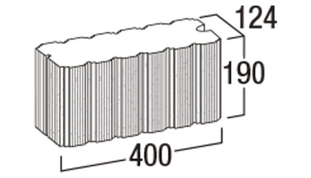 ホールストーン-寸法図-コーナー天端