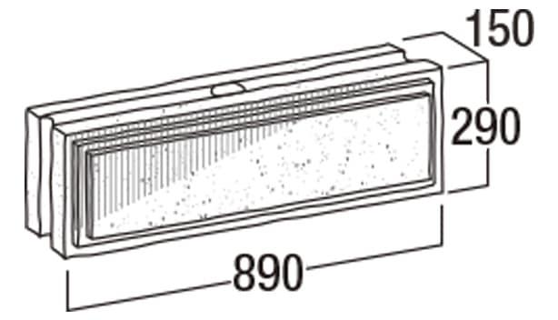 大谷900-寸法図-横筋・903