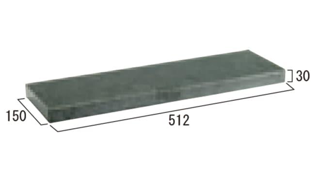 クリスタルキャップ-寸法図-500タイプ コーナー