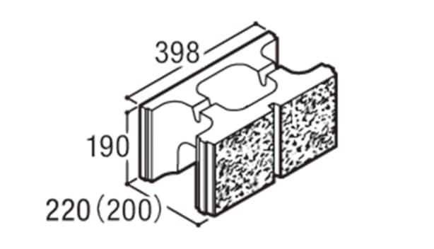 RECOM スクエア-寸法図-200基本