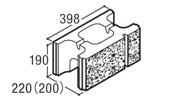 RECOM 2SP-寸法図-200基本B
