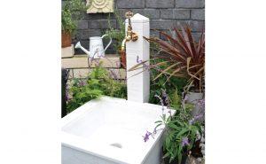 立水栓ユニットピッコロ(WH)