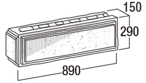 大谷900-寸法図-コーナー・905