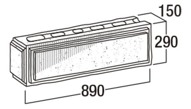 こたたき900-寸法図-コーナー・905