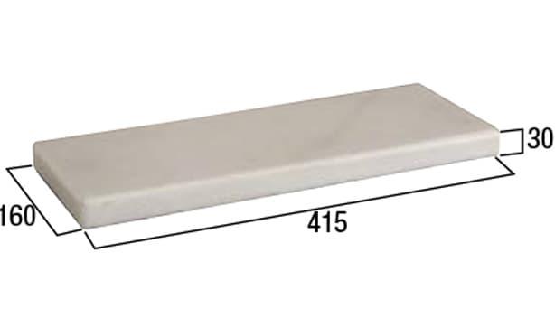クリスタルキャップ-寸法図-400タイプ コーナー