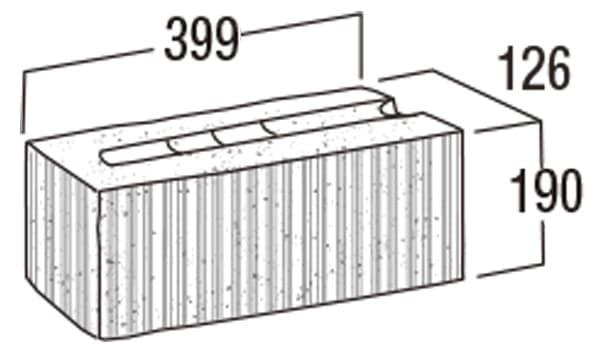 スーパーC種-寸法図-126コーナー