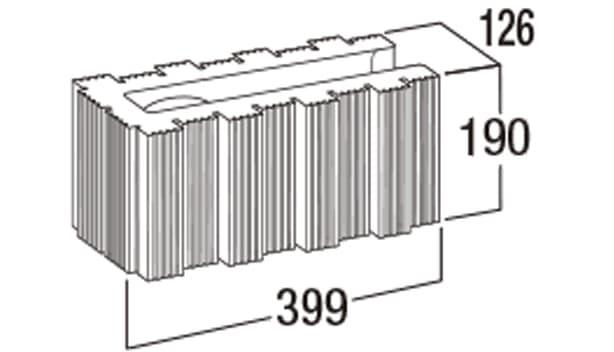 ウルトラC-寸法図-126コーナー
