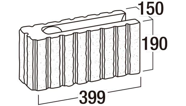 リブロックRX-寸法図-150-8Wコーナー