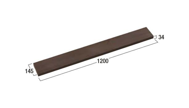 ハイブリッド笠木-寸法図-1200