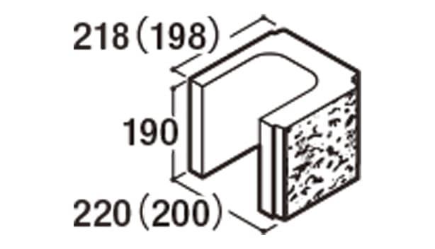 RECOM 2SP-寸法図-200コーナー1/2