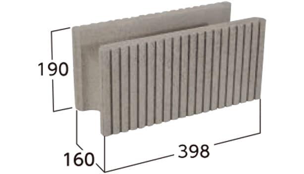 タフト-寸法図-基本形横筋