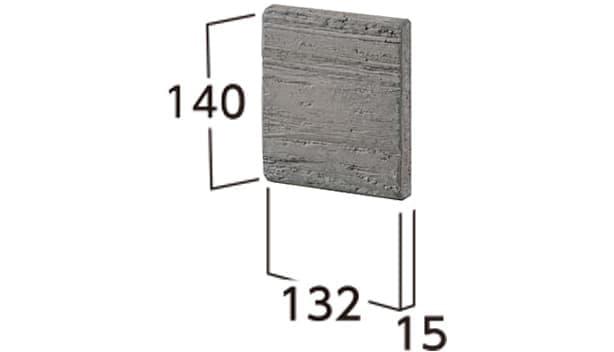 ラボ・ウォール-寸法図-片面用コーナーパーツ