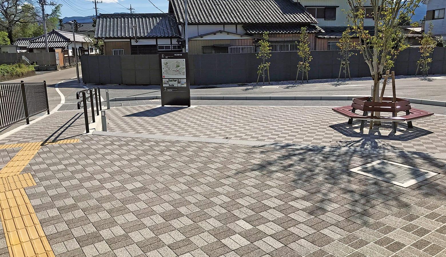 地域学生憩いの広場_オールラウンドペイブオリジナル